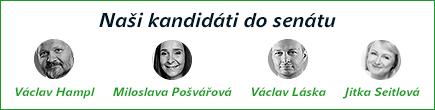 senátní kandidáti