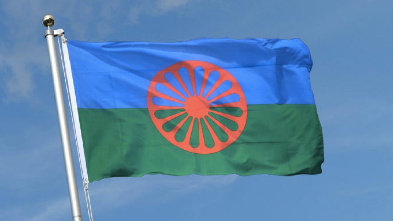 romská vlajka